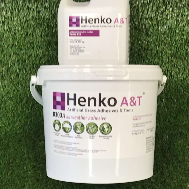 Henko R300 All weather Synthetic Turf Adhesive 6.85kg