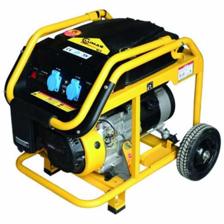 Lumag G3E 3 kw Petrol Generator