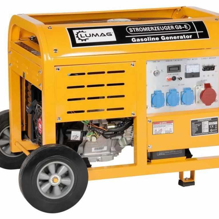 Lumag G8E 8 kw Petrol Generator