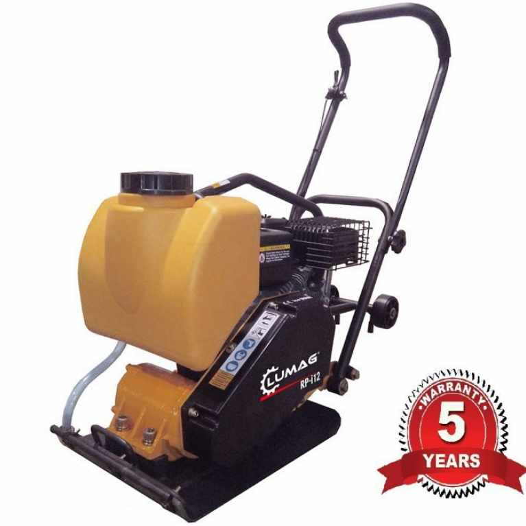 Lumag RPi12 10.5KN 14″ Petrol Compactor Wacker Plate with Water System