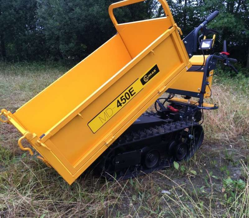 Lumag MD450E 450kg Electric Tracked Dumper with Manual Tip Image 3319