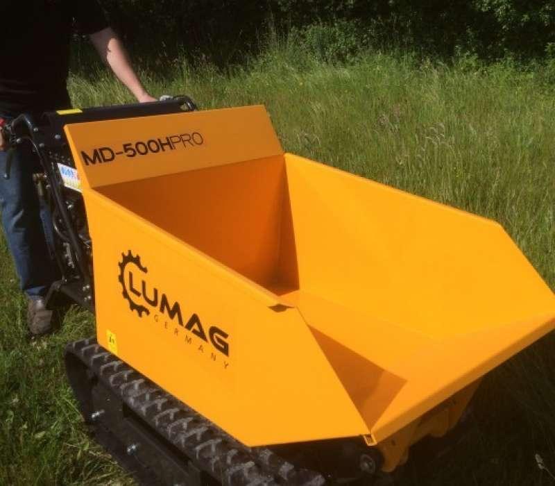 Lumag MD500H PRO 500kg Petrol Mini Dumper with Hydraulic Tip Image 3336
