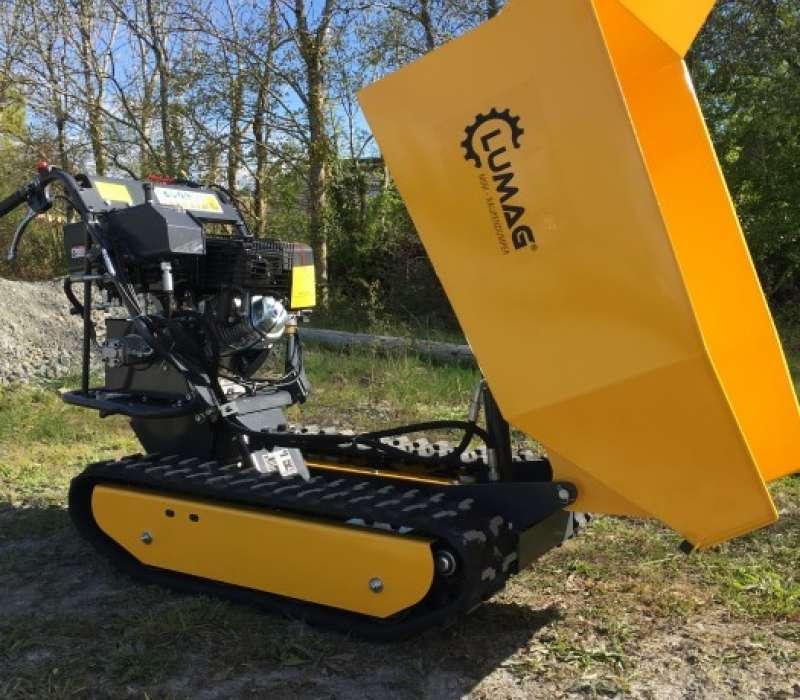 Lumag MD500H 500kg Petrol Mini Dumper with Hydraulic Tip Image 3334